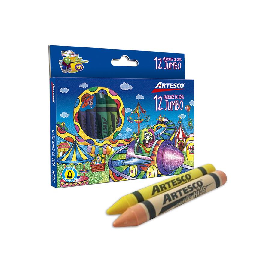 Crayones Jumbo x 12 unds.